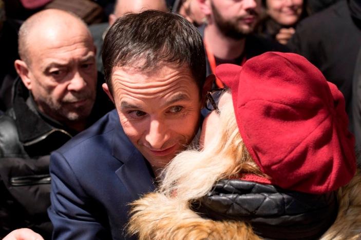 Primaires socialistes : meeting de Benoit Hamon à Montreuil, le 21 janvier 2017