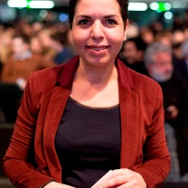 Naïma Charai, porte-parole de Benoit Hamon