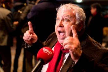 Gérard Filoche, soutien d'Arnaud Montebourg lors de la primaire, rallié à Benoit Hamon suite aux résultats du premier tour