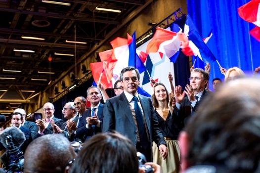 Primaires républicaines : meeting de François Fillon à la porte de Versailles, Paris, le 25 novembre 2016