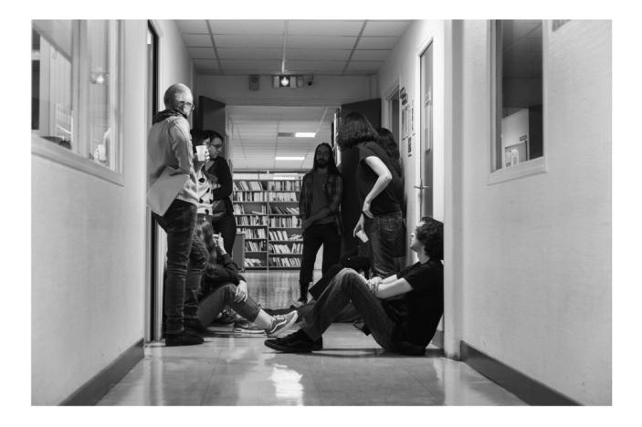 """""""Entre apprentis, on échange beaucoup sur nos expériences. L'école nous réunit""""."""
