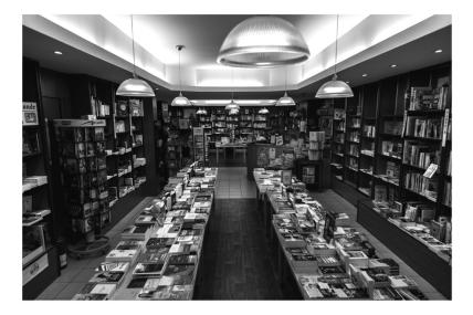 """""""Je prépare le diplôme de conseiller en librairie, mais c'est très intimidant de devoir conseiller des personnes qui souvent s'y connaissent mieux que moi en littérature ou en collection""""."""