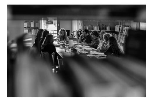 Progressivement, Ariane participe aux missions élargies du libraire, tels que les comités de lecture de la médiathèque. Ces passerelles entre métiers du livre permettent de faire circuler l'information.